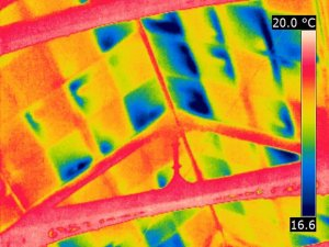 Compromised Roof Insulation Panlels Thermal